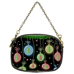 Christmas balls - pastel Chain Purses (Two Sides)