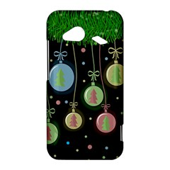 Christmas balls - pastel HTC Droid Incredible 4G LTE Hardshell Case