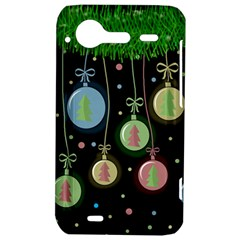 Christmas balls - pastel HTC Incredible S Hardshell Case