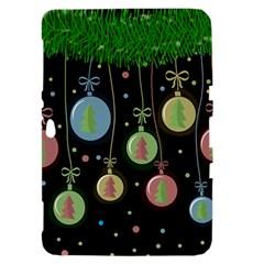 Christmas balls - pastel Samsung Galaxy Tab 8.9  P7300 Hardshell Case