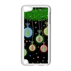 Christmas balls - pastel Apple iPod Touch 5 Case (White)