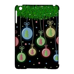 Christmas balls - pastel Apple iPad Mini Hardshell Case (Compatible with Smart Cover)