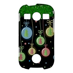 Christmas balls - pastel Samsung Galaxy S7710 Xcover 2 Hardshell Case