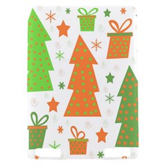 Christmas design - green and orange Kindle Touch 3G