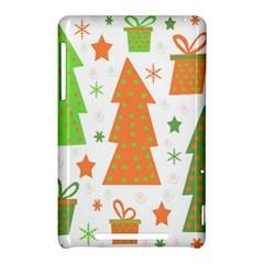 Christmas design - green and orange Nexus 7 (2012)