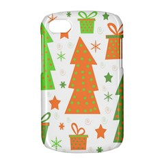 Christmas design - green and orange BlackBerry Q10