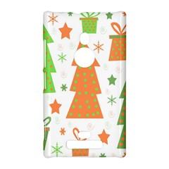 Christmas design - green and orange Nokia Lumia 925