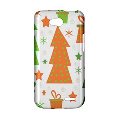 Christmas design - green and orange LG L90 D410