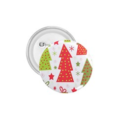 Christmas design - green and red 1.75  Buttons