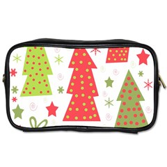 Christmas design - green and red Toiletries Bags 2-Side