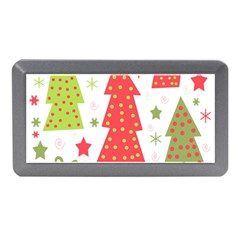 Christmas design - green and red Memory Card Reader (Mini)