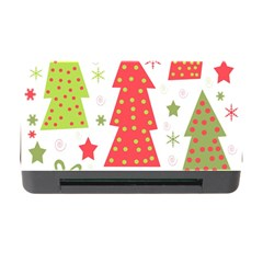 Christmas design - green and red Memory Card Reader with CF