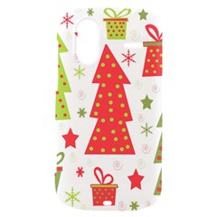 Christmas design - green and red HTC Amaze 4G Hardshell Case