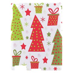 Christmas design - green and red Apple iPad 2 Hardshell Case