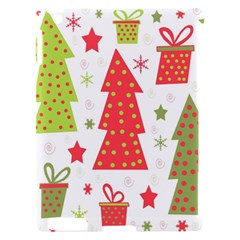 Christmas design - green and red Apple iPad 2 Hardshell Case (Compatible with Smart Cover)