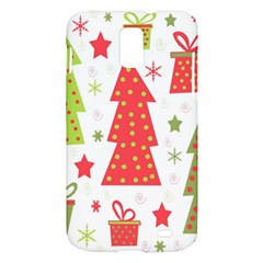 Christmas design - green and red Samsung Galaxy S II Skyrocket Hardshell Case