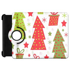 Christmas design - green and red Kindle Fire HD Flip 360 Case