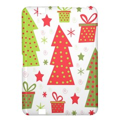 Christmas design - green and red Kindle Fire HD 8.9