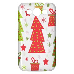 Christmas design - green and red Samsung Galaxy Win I8550 Hardshell Case