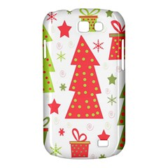 Christmas design - green and red Samsung Galaxy Express I8730 Hardshell Case