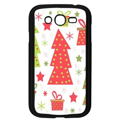 Christmas design - green and red Samsung Galaxy Grand DUOS I9082 Case (Black)