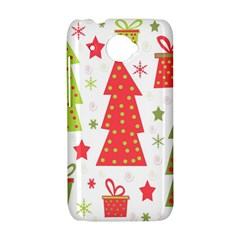 Christmas design - green and red HTC Desire 601 Hardshell Case