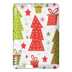 Christmas design - green and red Kindle Fire HDX Hardshell Case