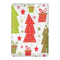 Christmas design - green and red Kindle Fire HDX 8.9  Hardshell Case