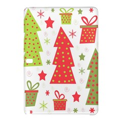 Christmas design - green and red Samsung Galaxy Tab Pro 12.2 Hardshell Case