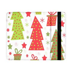 Christmas design - green and red Samsung Galaxy Tab Pro 8.4  Flip Case