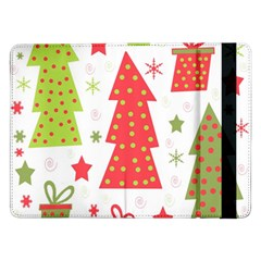 Christmas design - green and red Samsung Galaxy Tab Pro 12.2  Flip Case