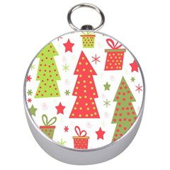 Christmas design - green and red Silver Compasses