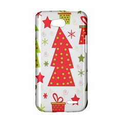 Christmas design - green and red LG L90 D410