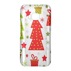 Christmas design - green and red HTC One M9 Hardshell Case