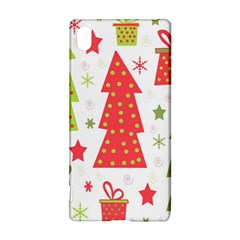 Christmas design - green and red Sony Xperia Z3+