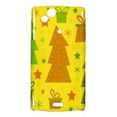 Christmas design - yellow Sony Xperia Arc