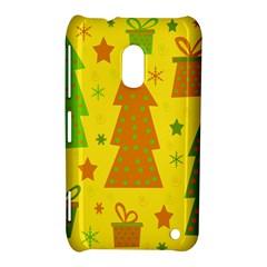 Christmas design - yellow Nokia Lumia 620