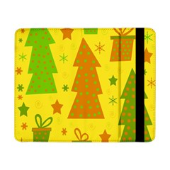 Christmas design - yellow Samsung Galaxy Tab Pro 8.4  Flip Case