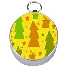 Christmas design - yellow Silver Compasses