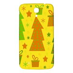 Christmas design - yellow Samsung Galaxy Mega I9200 Hardshell Back Case