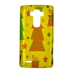 Christmas design - yellow LG G4 Hardshell Case
