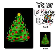Christmas tree Multi-purpose Cards (Rectangle)