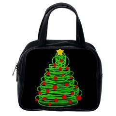 Christmas tree Classic Handbags (One Side)
