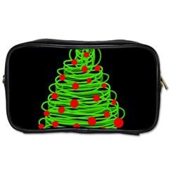 Christmas tree Toiletries Bags 2-Side