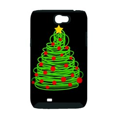 Christmas tree Samsung Galaxy Note 2 Hardshell Case (PC+Silicone)