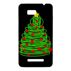 Christmas tree HTC One SU T528W Hardshell Case