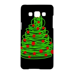 Christmas tree Samsung Galaxy A5 Hardshell Case