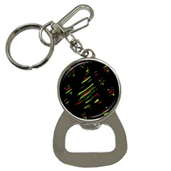 Abstract Christmas tree Bottle Opener Key Chains