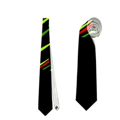 Abstract Christmas tree Neckties (Two Side)