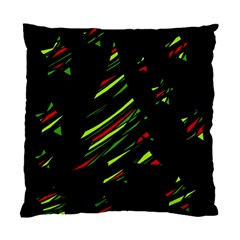 Abstract Christmas tree Standard Cushion Case (Two Sides)